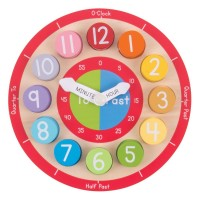 Teaching Clock Wooden Puzzle
