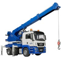 Bruder MAN TGS Crane Truck with Light & Sound