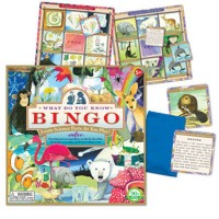 What Do You Know Bingo Natural History Game