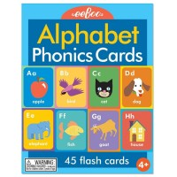 Alphabet Phonics Flash Cards