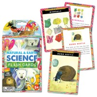 Natural & Earth Science 48 Flash Cards Set