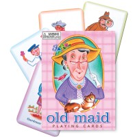 Old Maid Playing Cards Occupations Game