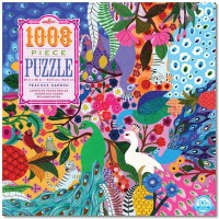 Peacock Garden 1000 pc Jigsaw Puzzle