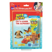 Hot Dots Jr. Let's Learn the Alphabet Interactive Book & Owl Pen Set