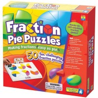 Fractions Pie Puzzles Fractions Learning Toy