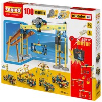 Engino 100 Model Ultimate Building Kit with 2 Motors