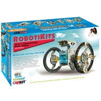 14-in-1 Solar Robot Building Science Kit
