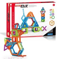 PowerClix 3D Magnetic 48 pc Building Kit
