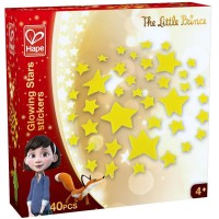 The Little Prince Glowing Stars Stickers 40 pc Set