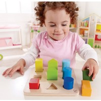 Color and Shape Sorter Learning Toy
