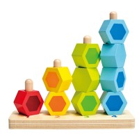 Counting Stacker Wooden Block Set