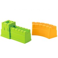Great Wall 2 pc Castle Mold Sand Building Toy