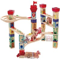 Quadrilla Medieval Quest 217 pc Wooden Marble Run