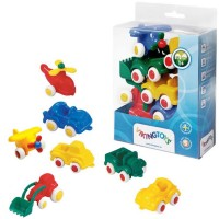 Viking Toys First Vehicles 7 pc Toddler Gift Set