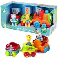 Toybox Musical Animal Train Toddler Play Set