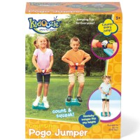 Counting Pogo Jumper Preschool Jumping Toy