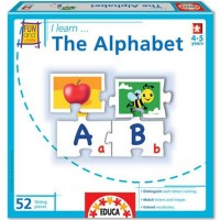 I Learn Alphabet Puzzle Matching Game