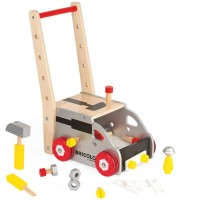 Redmaster Workbench & Trolley - Play Tools Push Cart