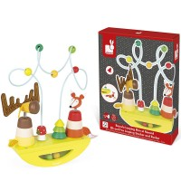 Zigolos Elk & Fox Looping Stacker & Rocker Toy