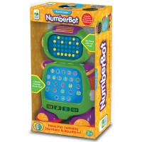 NumberBot Math Learning Toy Robot