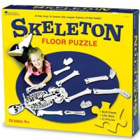 Human Skeleton Floor Foam Puzzle