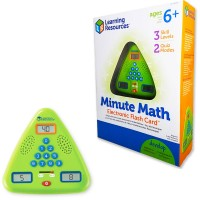 Minute Math Electronic Flash Card Game