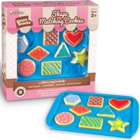Shape Matching Cookies Toddler Play Food Set