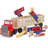 Big Rig Wooden Building Set