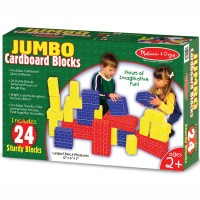 Jumbo Cardboard Blocks 24 pc Building Set