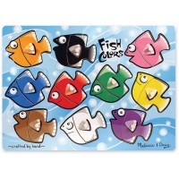 Fish Colors Mix n Match Peg Puzzle
