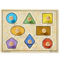 Large Shapes Jumbo Knob Puzzle