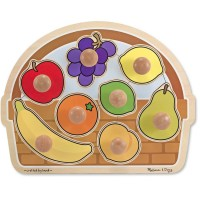 Fruit Basket Jumbo Knob Puzzle