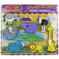 Safari Chunky Wooden Puzzle