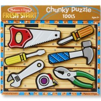 Tools Chunky Wooden Puzzle
