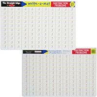 Subtraction Write-on Learning Placemat