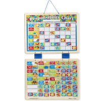Magnetic Responsibility Chart with 89 Magnets