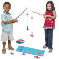 Magnetic Fishing Game Catch & Count Playset