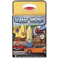 Vehicles Water WOW! On the Go Activity Book & Water Pen Set