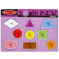Shapes Sound Wooden Puzzle