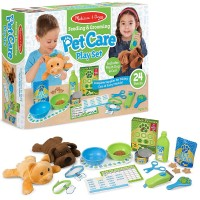 Feeding & Grooming Pet Care 24 pc Play Set