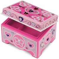 Jewelry Box - Decorate Your Own Wooden Craft