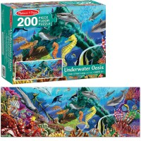 Underwater Oasis 200 pc Floor Puzzle