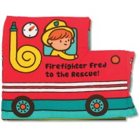 Baby Activity Soft Book - Firefighter Fred to the Rescue