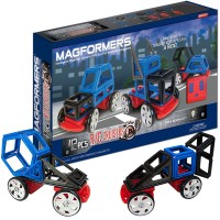 Magformers RC Cruisers 42 pc Magnetic Vehicles Building Set