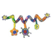 Whoozit Lights & Sounds Spiral Car Seat & Stroller Toy