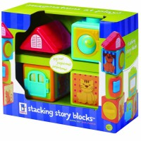 Stacking Story Blocks Toddler Manipulative Toy
