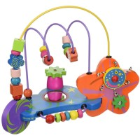Whoozit Cosmic Bead Maze Baby Toy