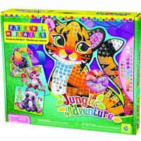Jungle Adventure Animals Sticky Mosaics Kit