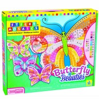 Butterfly Beauties Sticky Mosaics Girls Craft Kit
