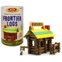 Frontier Logs 75 pc Wooden Classic Construction Set